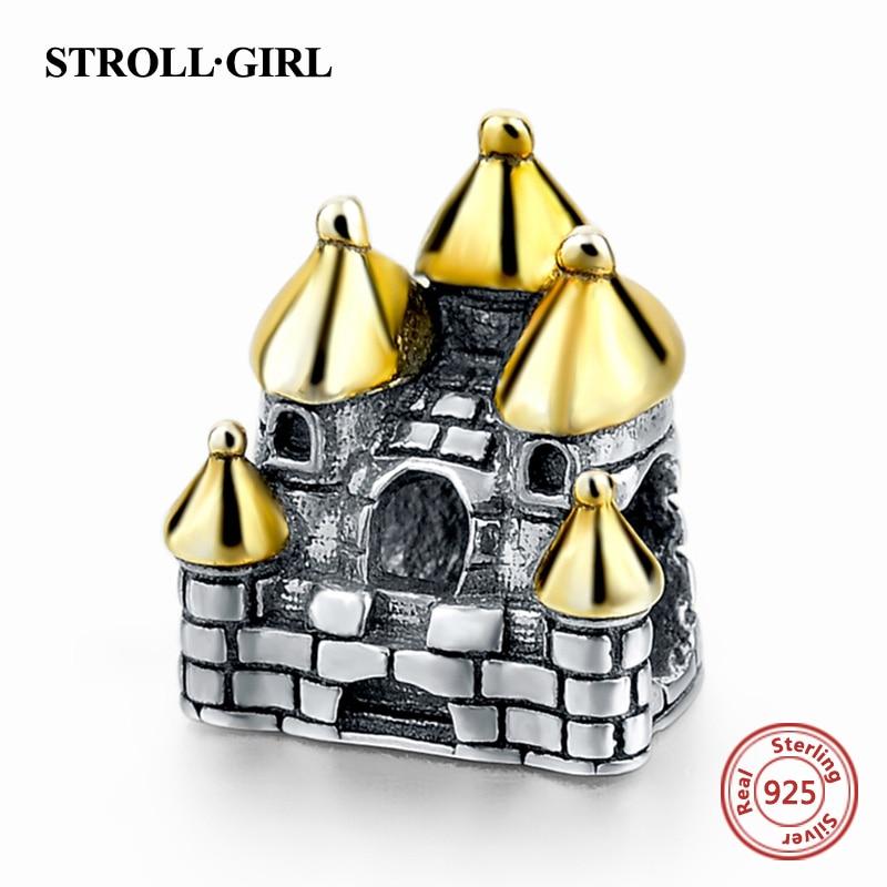 Strollgirl aito 925 hopea Eiffel-torni kahvikuppi viehätyshelmi - Muotikorut - Valokuva 6