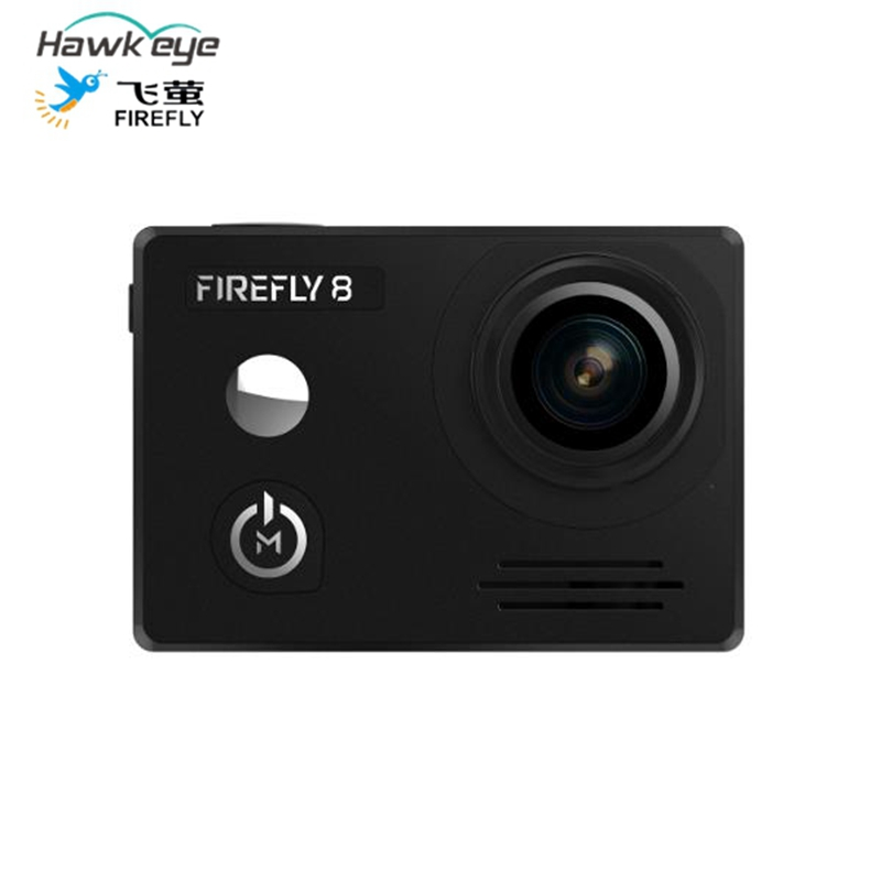 Feiying Hawkeye Firefly 8 WiFi Action Sports Camera 170 Degree Wide Angle Drone Aerial Cam Gyro Image Stabilization VS GO PRO