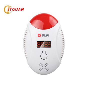 HA-03  home Carbon monoxide alarm Chinese and English switch used 3 pieces AAA battery