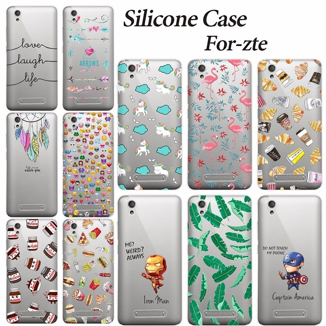 innovative design 166da 099b0 Aliexpress.com : Buy For ZTE Blade A452 5.0 INCH Case ZTE A452 A 452 Cover  Soft Silicone TPU Cover Case FOR ZTE X3 A452 A 452 / T620 T 620 Phone Case  ...