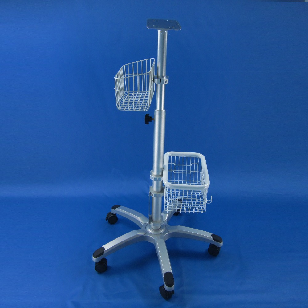 patient monitor trolley monitor stand roll