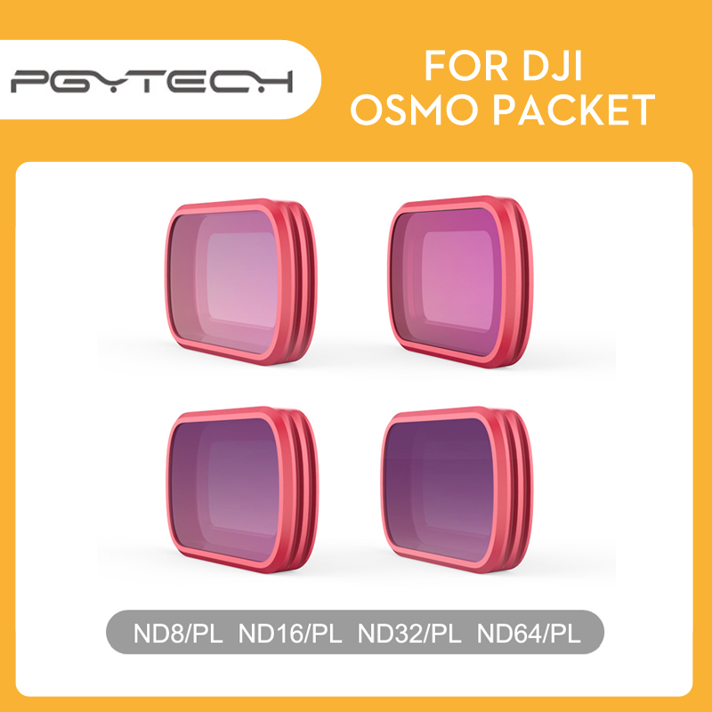 PGYTECH Osmo Pocket Profesional Filters ND8 16 32 64PL Filter SET for DJI Osmo Pocket Profesional