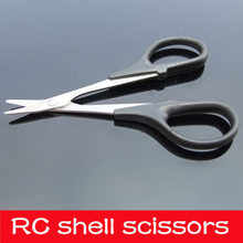 лучшая цена 1pcs 1/8 1/10 1/16 Stainless Steel Car Toll for RC Vehicle Buggy Truck Boat Body Shell Bodyshell Curved Scissors Tool parts