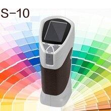 CS-10 Портативный 8 мм Цвет imeter Цвет метр по измерению разницы тестер
