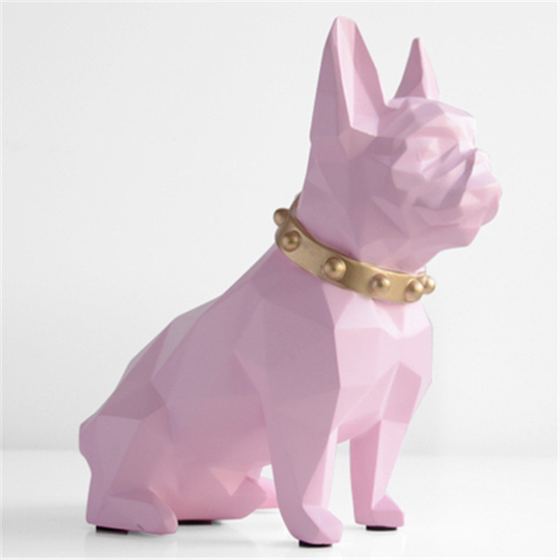 Bulldog Piggy Bank Statue Simulation Dogs Animal Money Box Art Sculpture Resin Craftwork Home Interior Design L2978Bulldog Piggy Bank Statue Simulation Dogs Animal Money Box Art Sculpture Resin Craftwork Home Interior Design L2978