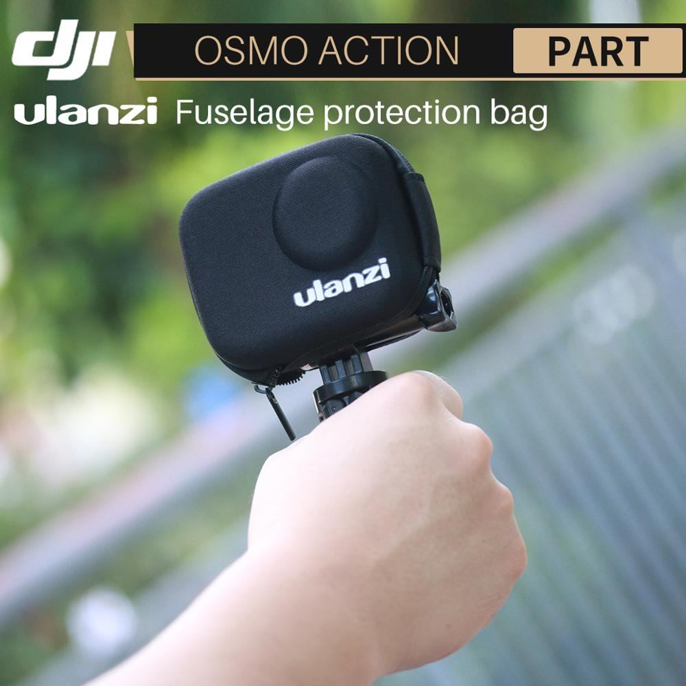 Ulanzi Portable Hard Case For Dji Osmo Action Protective Travel Shell Housing For Osmo Action Camera Accessories