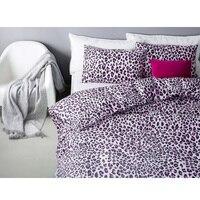 Бренд для детей хлопковые тапочки с леопардовым принтом удобный бюстгальтер для девочек комплект постельного белья облегающий чехол/прост