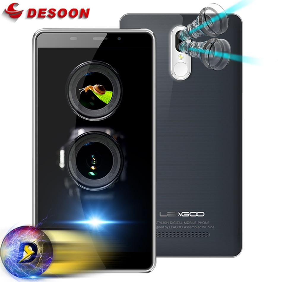 """bilder für Leagoo M8 PRO Smartphone 5,7 """"HD Android 6.0 MTK6737 2 GB RAM 16 GB ROM 3500 mAh 13,0 MP Dual Zurück objektiv Fingerabdruck Handy"""