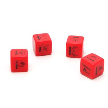 Funny 12 Side Sex Position Dice Bachelor Party Adult Couple Lover Novelty Gift image