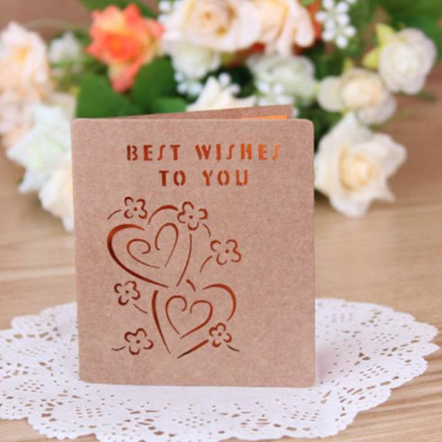 5pcs hollow kraft paper card birthday greeting card teacher s day 5pcs hollow kraft paper card birthday greeting card teacher s day greeting cards festival card m4hsunfo