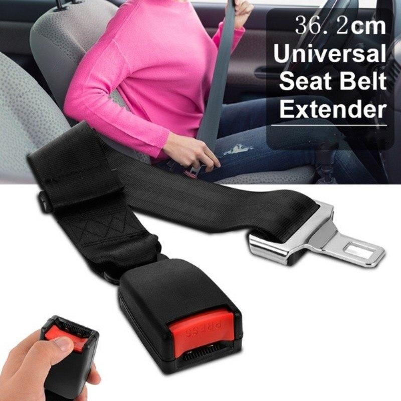 ¡Oferta! cinturón de seguridad Universal para coche, cinturón de seguridad, cinturón extensor de extensión, cinturones de seguridad y extensor de relleno