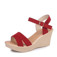 Women Sandals 2019 New Summer Fashion Solid Color Hollow Gla
