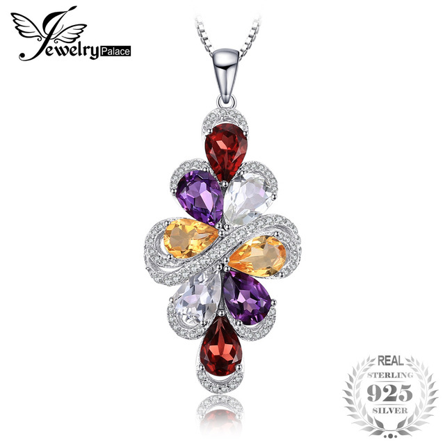 cushion kt yellow gold cut amethyst peora green pendant carats