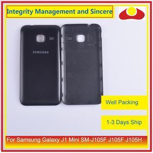Image 5 - מקורי עבור Samsung Galaxy J1 מיני SM J105F J105F J105H J105 שיכון סוללה דלת אחורי כיסוי אחורי מקרה מארז פגז