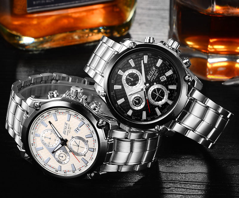 x Leather Stainless Quartz Wrist Watches watches international x