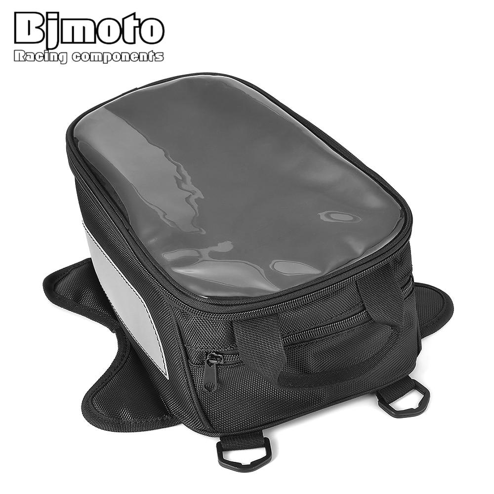 bjmoto bolsa para tanque de combustivel bolsa para tanque de oleo de motocicleta magnetica com suporte