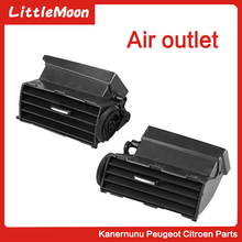 Original air outlet Air conditioning Central console car accessories for Citroen C5  X7/X7R