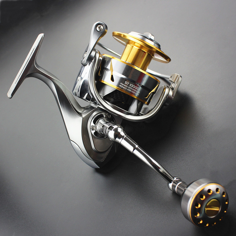 jigging fishing wheel saltwater spinning reel metal construction carbon accessories high durability powerful braking force