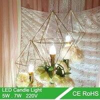 Top Quality High Brightness Candle Light Led Bulbs E14 LED Candle Light 220V Led Lamp Lighting