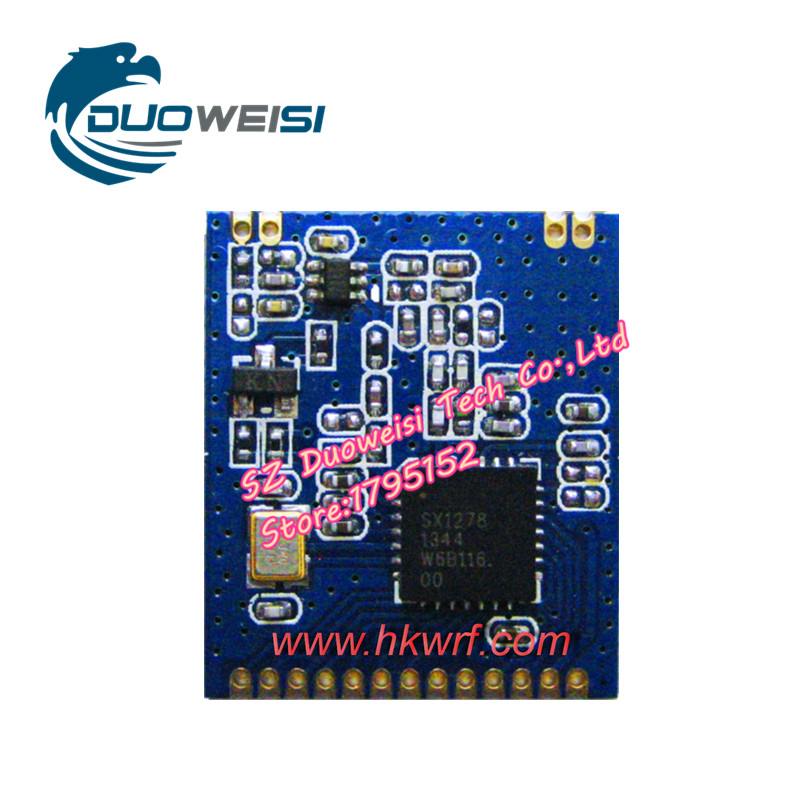 SX1276 | SX1278 | LoRa wireless module | HKW51-4S | Long-range wireless module rfm96 rfm96w lora sx1276 wireless transceiver module 20dbm 3km genuine 433mhz