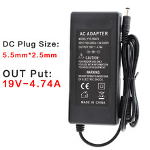 Ac Dc Power 19V Adapter 4.74A Supply Laptop Notebook 19V Adapter 19V 4.74A Oplader Voor Asus k53B K53BY K53E K53F Laptop(China)
