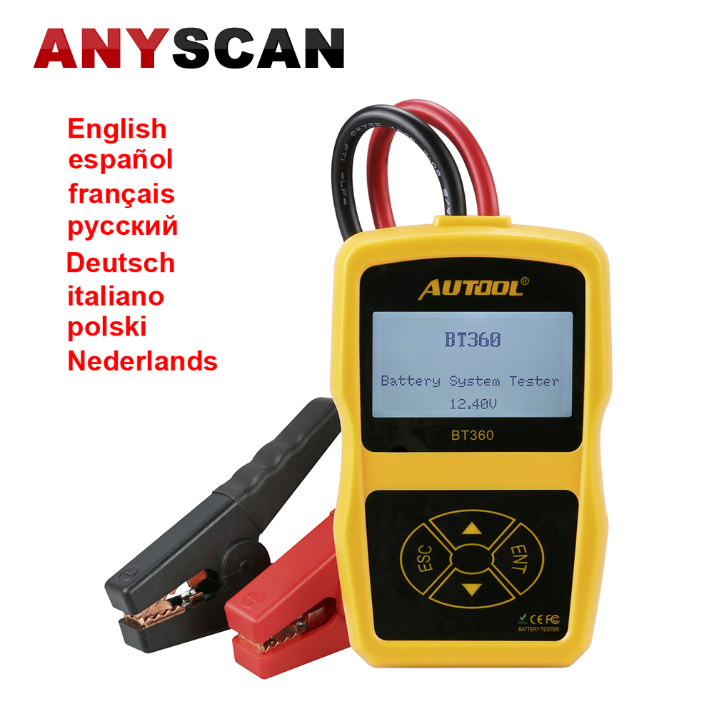 Car Battery System : Car battery system tester autool bt v support en