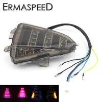 Motosiklet Arka Dönüş Sinyali Fren Dur LED ile Kuyruk Işıkları Yamaha R15 göstergesi Değiştirmek için Entegre Işık 2013 2014 2015 2016