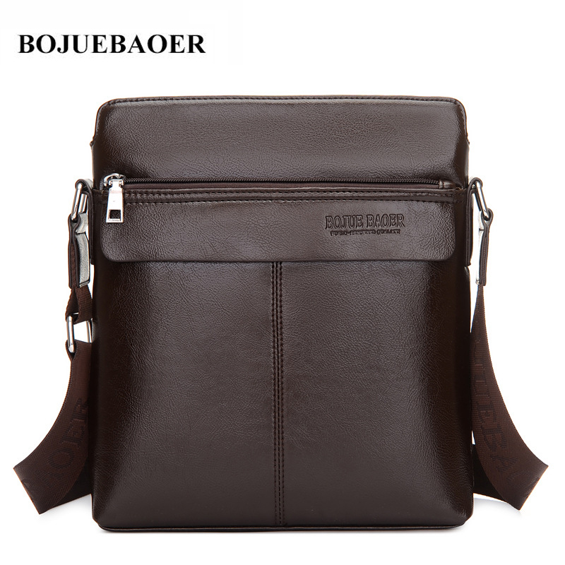 New Fashion Famous Brand Men Bags Classic Vintage Leather Men Crossbody Messenger Bag business Quality Small Men's Shoulder Bag 2016 new fashion business bags brand polo men s travel shoulder bags small messenger bags men s crossbody bags m208
