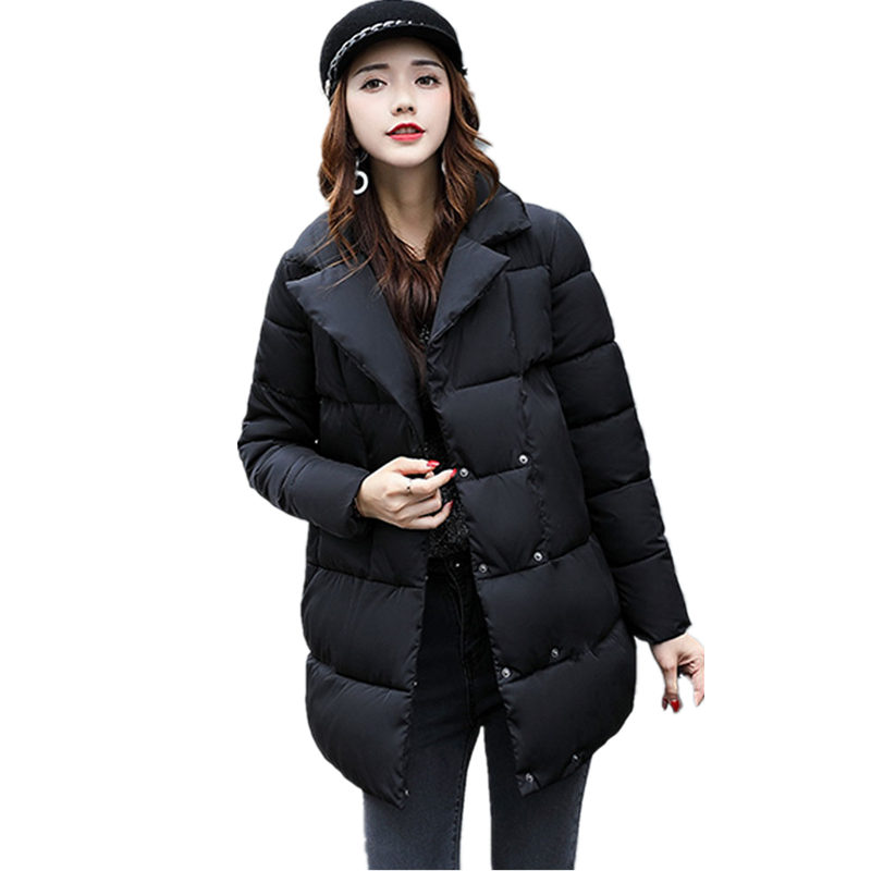 Warm Parka Women Down Jacket Winter Coat Winter Parka Cotton Padded Jacket Woman Winter Jacket Coat 2017 Mujer MZ1963 qazxsw woman basic coat woman winter jacket for women woolen poncho jacket single button loose cotton padded abrigos mujer hb118