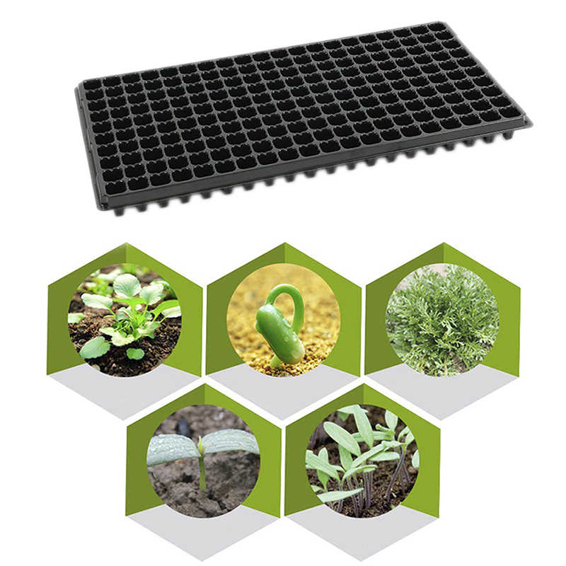 Neue PP Sämling Wachsenden Fällen Keimung Anlage Ausbreitung Topf Garten Blumentopf Gemüse kindergarten Samen Tablett