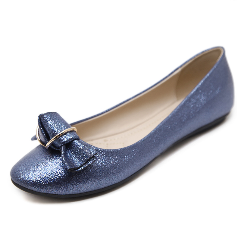 Espadrilles blue Appartements Mode Automne 2019 Ballerine Casual Chaussures Pointu Femmes Beige Bout Richelieus black Mocassins qPwB6zB