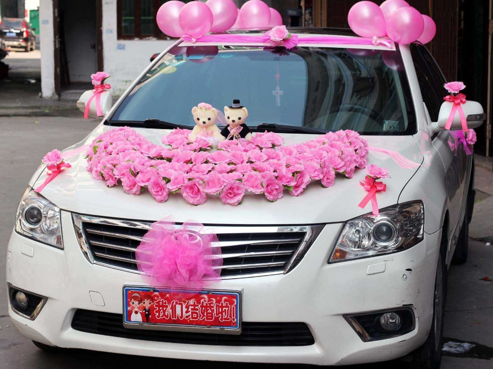 Flower balloon bouquet promotion shop for promotional for Automotive decoration