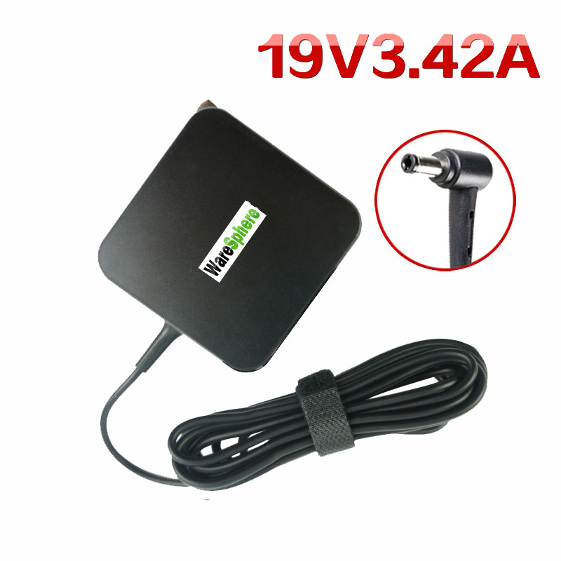 New 19V 3.42A 65W Adapter For Asus Laptop X550C A450C Y481C Notebook AC Power Charger 5.5*2.5mm