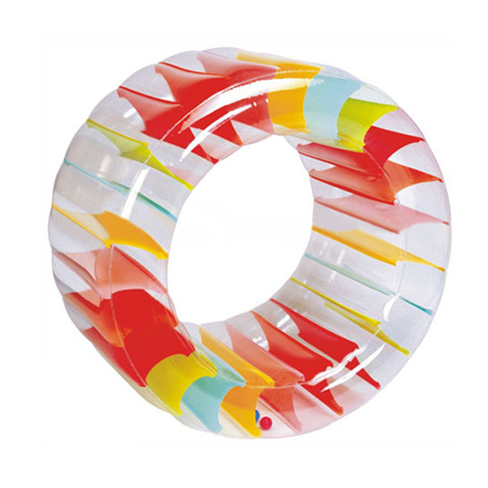 36inch  Colorful Inflatable Water Wheel Inflatable Roller Ball Grass Water Roller Giant Roll Ball Pool Toys36inch  Colorful Inflatable Water Wheel Inflatable Roller Ball Grass Water Roller Giant Roll Ball Pool Toys