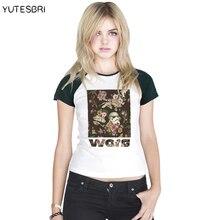 2016 women T shirt star wars The Force Awakens Casual shirt fashing T-Shirt For women darth vader storm trooper raglan top tees