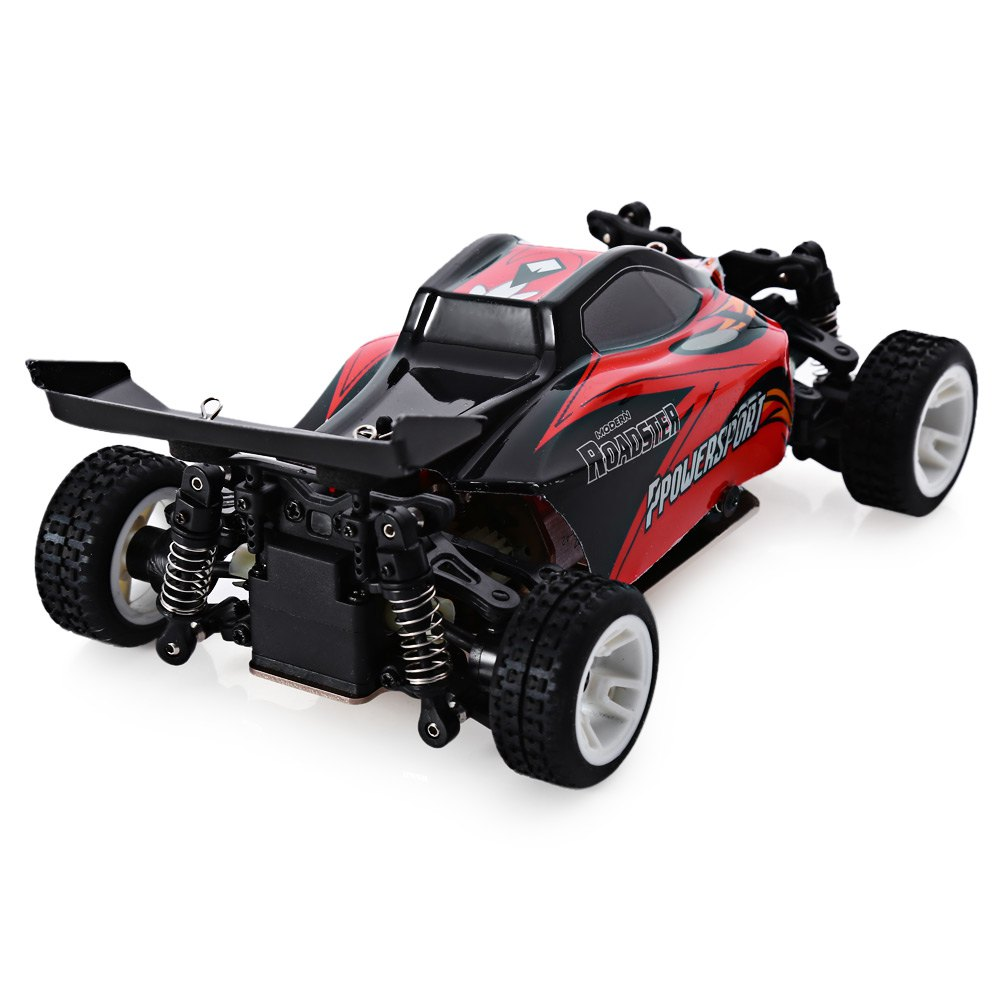 WLtoys RC Car 2.4G 4WD 1/24 High Speed Scale Remote Control Toy Off-road Desert Buggy Racing Car Vehicle Toys EU Plug 2016 New подвесной унитаз ifo grandy rp213100200