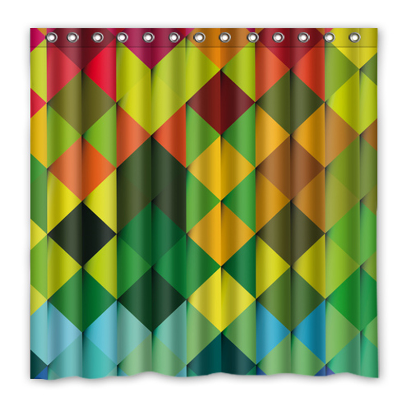 Luxurysmart Color light Bar Texture Shower Curtains Custom Design ...