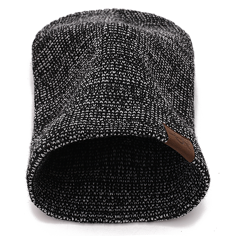 New Unisex Hat URGENTMAN Casual Beanies For Men Women Hip-hop Knitted Winter Hat Male Acrylic Crochet Ski Beanie Hat Female Cap 4