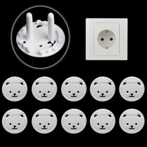 Safety-Guard-Protection Anti-Electric-Shock-Plugs-Protector-Cover Eu-Power-Socket Electrical-Outlet