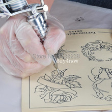 Hot Sell 10pcs Blank Tattoo Practice Skin 15X20CM Premium Mix Sheet Needle Machine Tattoo Accessories Supply