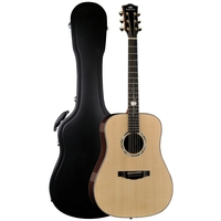 Left Right Handed Guitar41 Chinese Electric Guitar Solid Sitka Spruce Top Ebony Back And Sides Acoustic