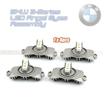 Free Shipping 1x4pcs LED Angel Eye Modules For BMW F30 F35 12-16' Facelift Styling