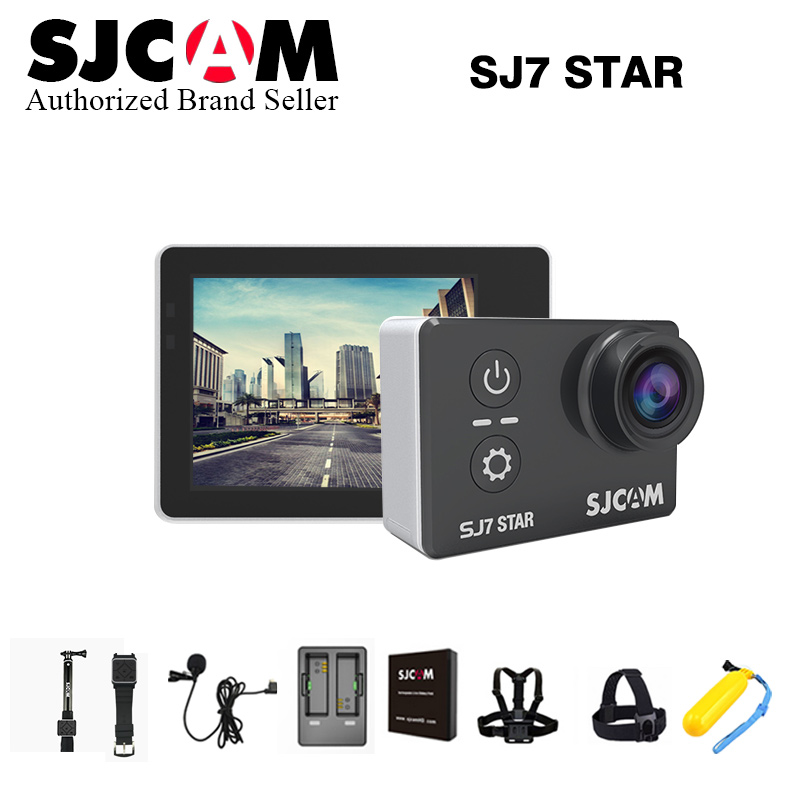 SJCAM SJ7 Star WiFi 4K 30FPS 2 Touch Screen Remote Action Helmet Sports DV Camera Waterproof Ambarella A12S75 Chipset sj cam 7