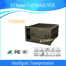 Free Shipping DAHUA Mobile DVR 8 Channel PoE Mobile Network Video Recorder Without Logo NVR0804MF