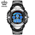 SMAEL Brand Digital Kids Watches LCD Boys Sports Watch Date Fashion Waterproof Wristwatches Alarm Clock Children Gifts WS0616b