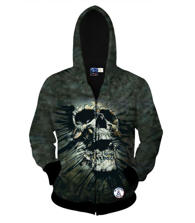Men Women Hoodies Skull 3D Printing Hip Hop Hoodie Sweatshirt Tracksuit Men Sportwear Spring Fashion Personality Casual Cardigan (31)