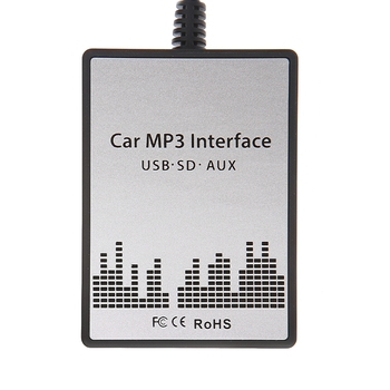 New USB Sd Aux Car MP3 Adapter CD Change For Suzuki Aerio, Grand Vitara, Ignis, Jimny II, Liana, Splash, Swift, SX4, Wagen R+, X image