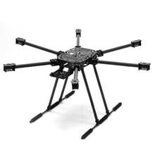 Zd850 zd 850 kit quadro de fibra de carbono completo com unflodable trem de pouso dobrável braço para fpv diy aircraft hexacopter jmt