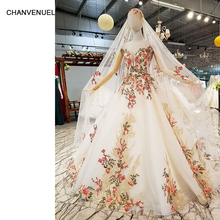 CHANVENUEL LS746641 color flowers dress for occasion dress