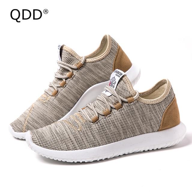 QDD Classic Designation Men Running Shoes Trendy Men Running Shoes  Lightweight Sports Fly Knitting Running Sneakers for Men. 513d51038